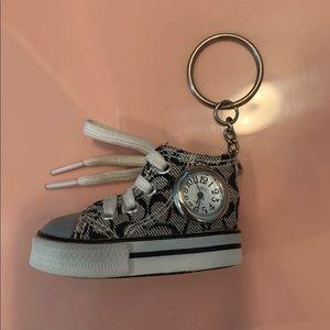 Coach shoe keychain